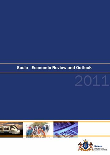 Socio-Economic Review and Outlook 2011 - Tshwane