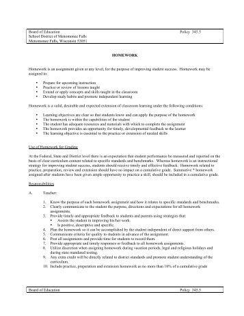 District homework
