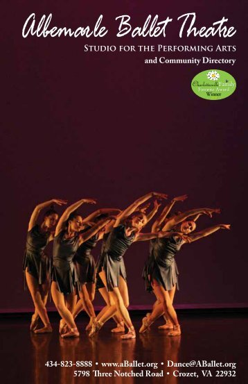 2013 Directory/Program - Albemarle Ballet Theatre Dance School ...