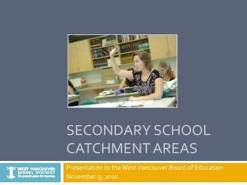 Secondary Transition Plan - BICS Presentation ... - the School District