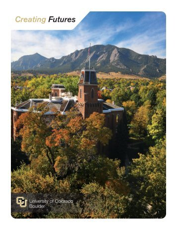 Creating Futures - University of Colorado Foundation