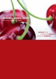 données média 2009