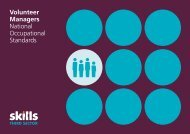 Volunteer Managers - Skills - Third Sector