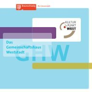 Das Gemeinschaftshaus Weststadt - Stadt Braunschweig