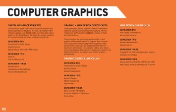 COMPUTER GRAPHICS - Delaware College of Art and Design