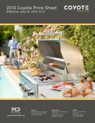 Coyote_MD-PriceBookF.. - Milestone Distributors