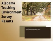 2009-2010 Teaching Environment Report - Pride Surveys
