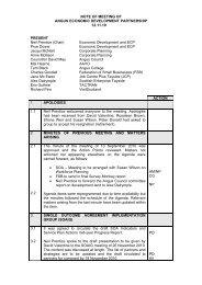 12 November 2010 (70 KB PDF) - Angus Community Planning