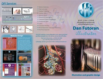 Dan Futoran illustration and graphic design - DFI Graphics