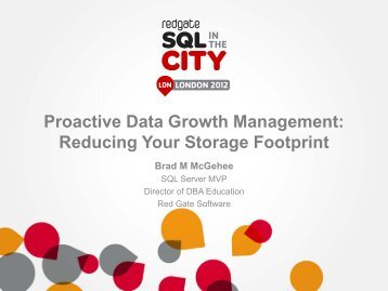 Database - SQL in the City - Red Gate Software