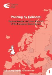 ESS Policing by Consent.pdf - Institute for Criminal Policy Research