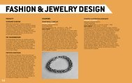 FASHION & JEWELRY DESIGN - Delaware College of Art and Design