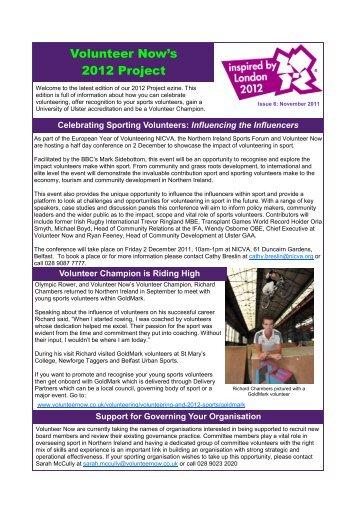 Volunteer Now's 2012 Project