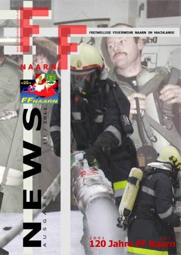Die Feuerwehr Naarn 1971-2011 - Freiwillige Feuerwehr Naarn