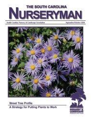 September/October 2010 - South Carolina Nursery & Landscape ...