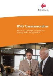 BVG Gesetzesordner - Swiss Life