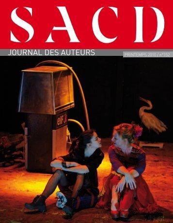 journal des auteurs - SACD