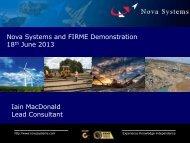 NOVA FIRME Presentation - CIRCEA