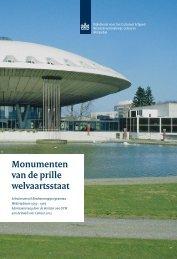 Monumenten van de prille welvaartsstaat - 04/13 - watererfgoed.nl