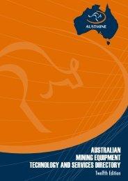 australian mining equipment technology and services ... - Austmine