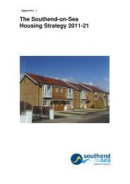 Appendix 1 - Southend-on-Sea Borough Council