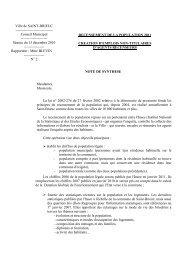 Recensement de la population 2011 - Saint-Brieuc