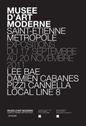 dossier de presse - Musée d'art moderne de Saint-Etienne