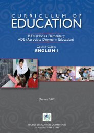 Course Guide - USAID Teacher Education Project