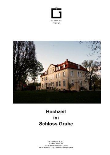 Hochzeit im Schloss Grube _ PDF