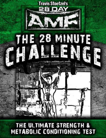 28DayMuscle.com The 28 Min Challenge - 28 Day Athletic Muscle ...