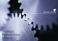 Strategic Partnerships Manual - Staff and Departmental ...
