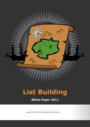 List Building - Email Brain