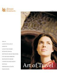 Art of Travel - True Luxury Tours