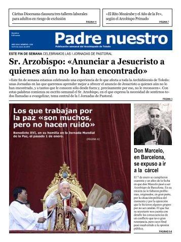 Número 1.250 12-13 de enero - Archidiócesis de Toledo