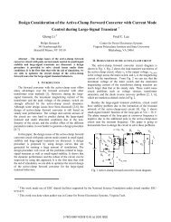 22.2 Design Consideration of the Active-Clamp Forward Converter ...