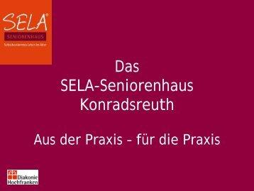 Das SELA-Seniorenhaus Konradsreuth