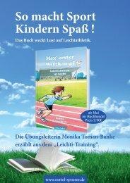 zum Flyer Kinderbuch Leichtathletik - WLV-Kreis Reutlingen