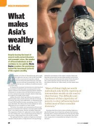 What makes Asia's wealthy tick - Health Psychology Consultancy