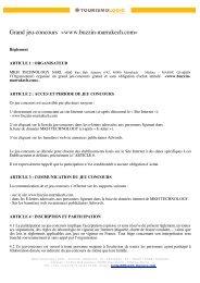 BIM - Mentions Legales - Web - FR - 20110125 - Location Riad ...