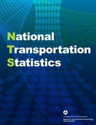 Acknowledgments US Department of Transportation - BTS