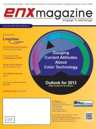 February 2013 Issue in PDF - ENX Magazine