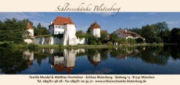 Der Tradition verpflichtet! - Schlossschänke Blutenburg  und ...