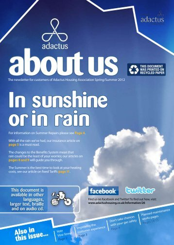 Please click here to download this latest edition - Adactus Housing ...
