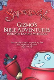 Gizmos Bible Adventures - Your New Journey with God
