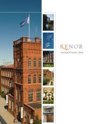 Vuosikertomus 2008 - Renor Oy
