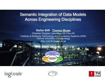 Semantic Integration - Software Engineering Integration for Flexible ...
