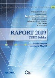 RapoRt 2009 - CERT Polska