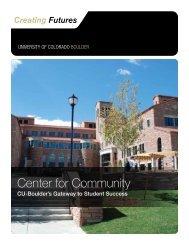Center for Community - University of Colorado Foundation
