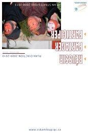 Plan d'action 2009-2010 - Commission scolaire de Kamouraska ...