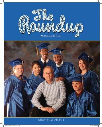 The Roundup May/June 2013 - Cal Farley's